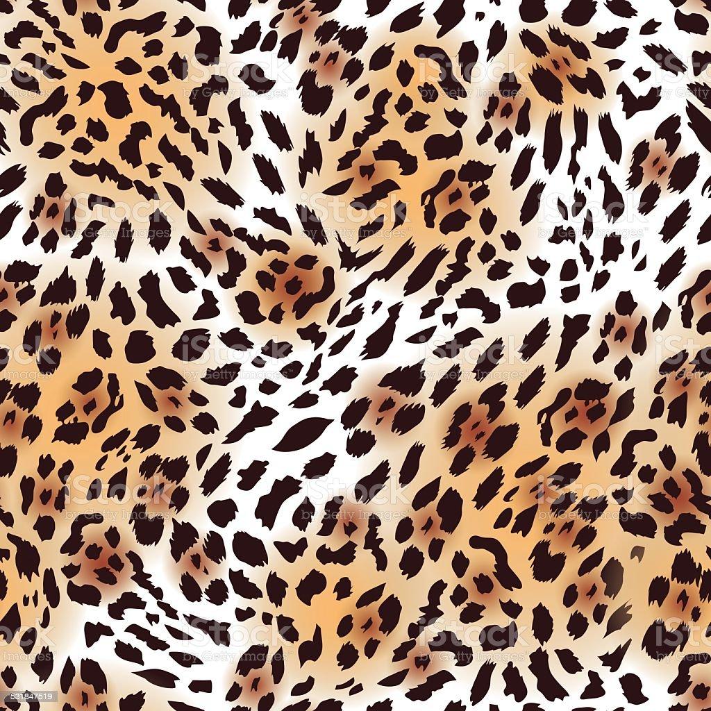 L'Extrême-Orient en fourrure léopard motif sans couture vecteur, EPS10 - Illustration vectorielle