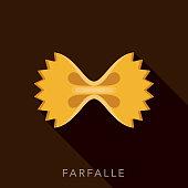 Farfalle Pasta Icon