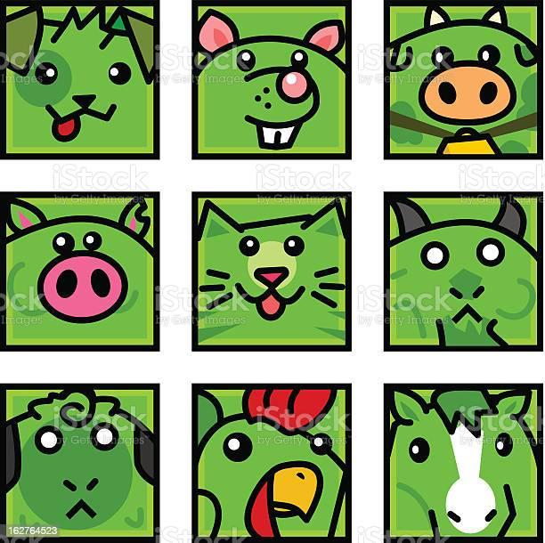 Farm animal icons vector id162764523?b=1&k=6&m=162764523&s=612x612&h=s0fw2esurq5i5bjbyd vbvgqldhdk0n66fji6gpnow0=