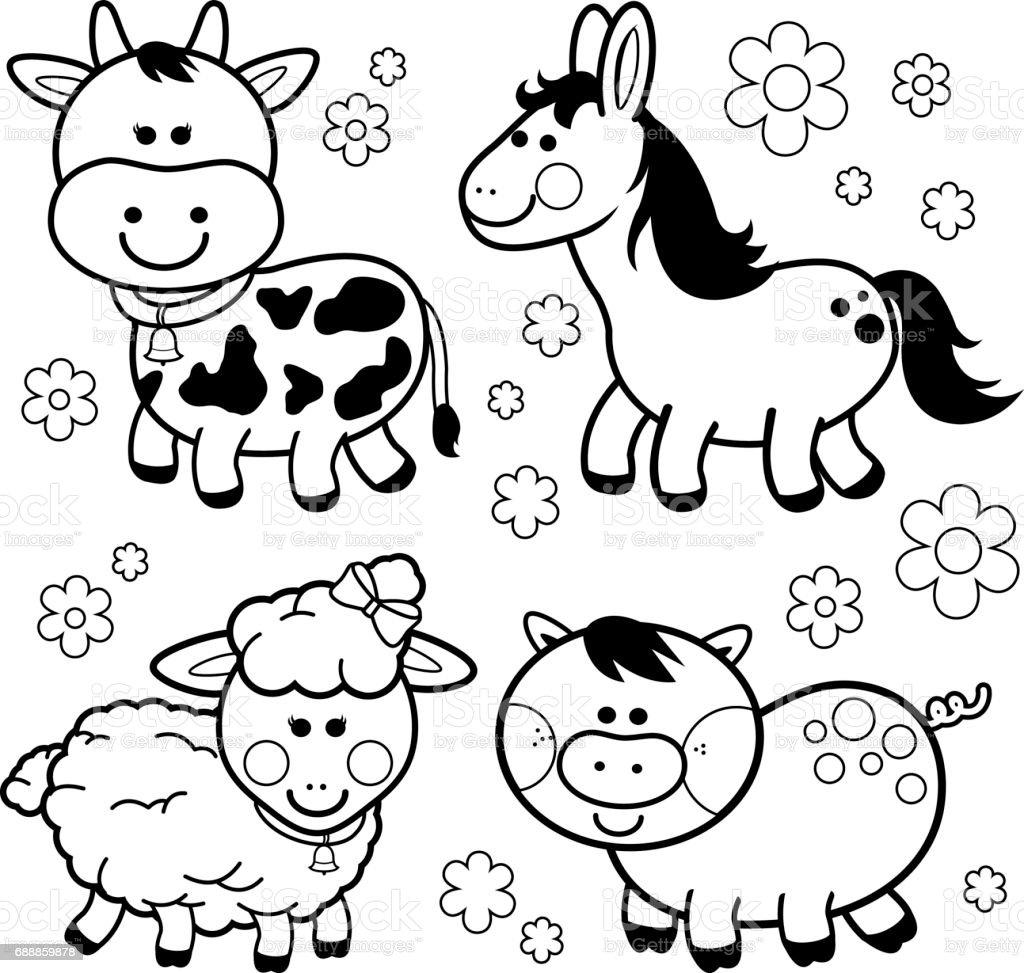 Único Vaca Para Colorear Adorno - Dibujos Para Colorear En Línea ...