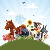 Farm Animals Family