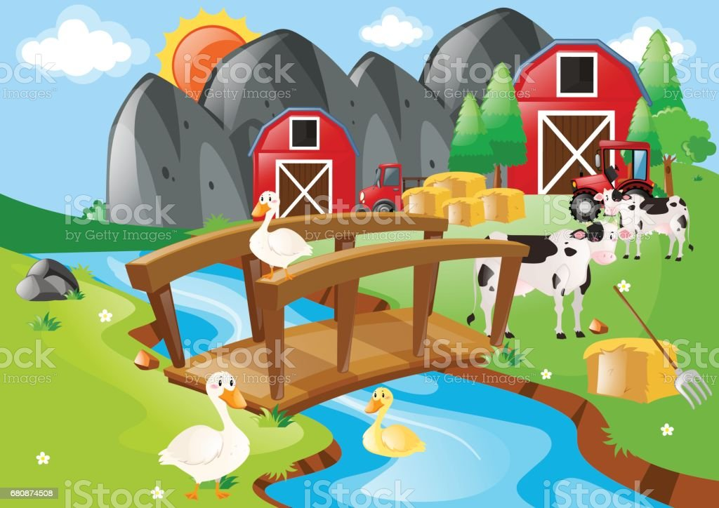 Farm animals living on the farm royalty-free farm animals living on the farm stock vector art & more images of activity