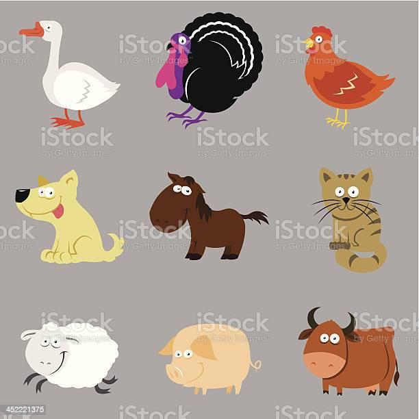 Farm animals set vector id452221375?b=1&k=6&m=452221375&s=612x612&h=hv kntaque rrg4vqexxiemskvf84r k802l6ryiufq=
