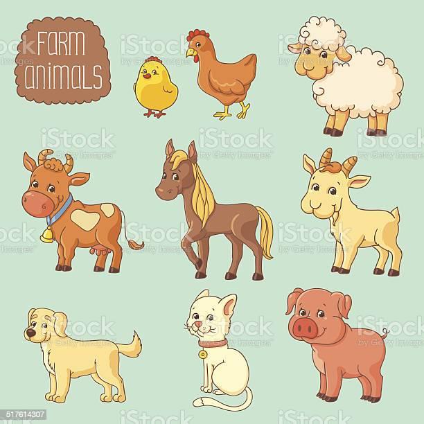 Farm animals vector id517614307?b=1&k=6&m=517614307&s=612x612&h=c5d5rroqd0t1p zznakdhjy8nsml79n4gdz2vhb 8um=