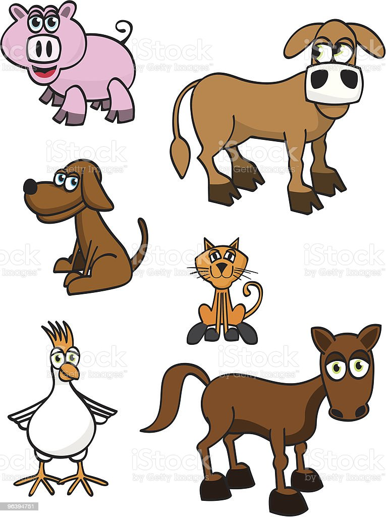 Farm Animals - Royalty-free Animal stock vector