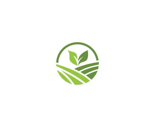Emblema de la granja - ilustración de arte vectorial