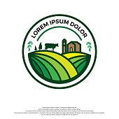 Farm House logo concept