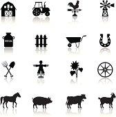 Farm Icon Set