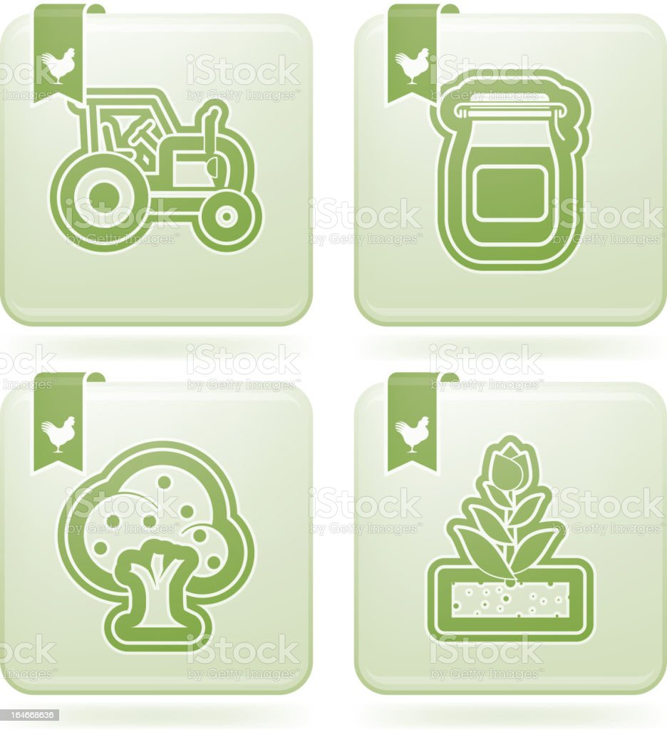 Farm Icons royalty-free farm icons stock vector art & more images of agriculture