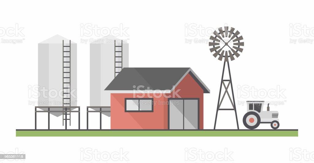 Farm Landscape farm landscape - stockowe grafiki wektorowe i więcej obrazów bez ludzi royalty-free