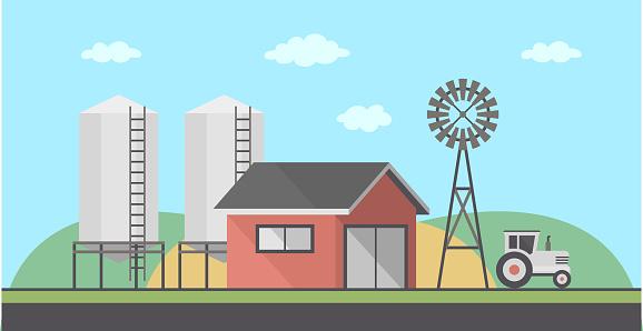 농장 풍경 0명에 대한 스톡 벡터 아트 및 기타 이미지