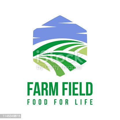Farm logo template for your needs such a new project, add to your presentation slide, website, etc