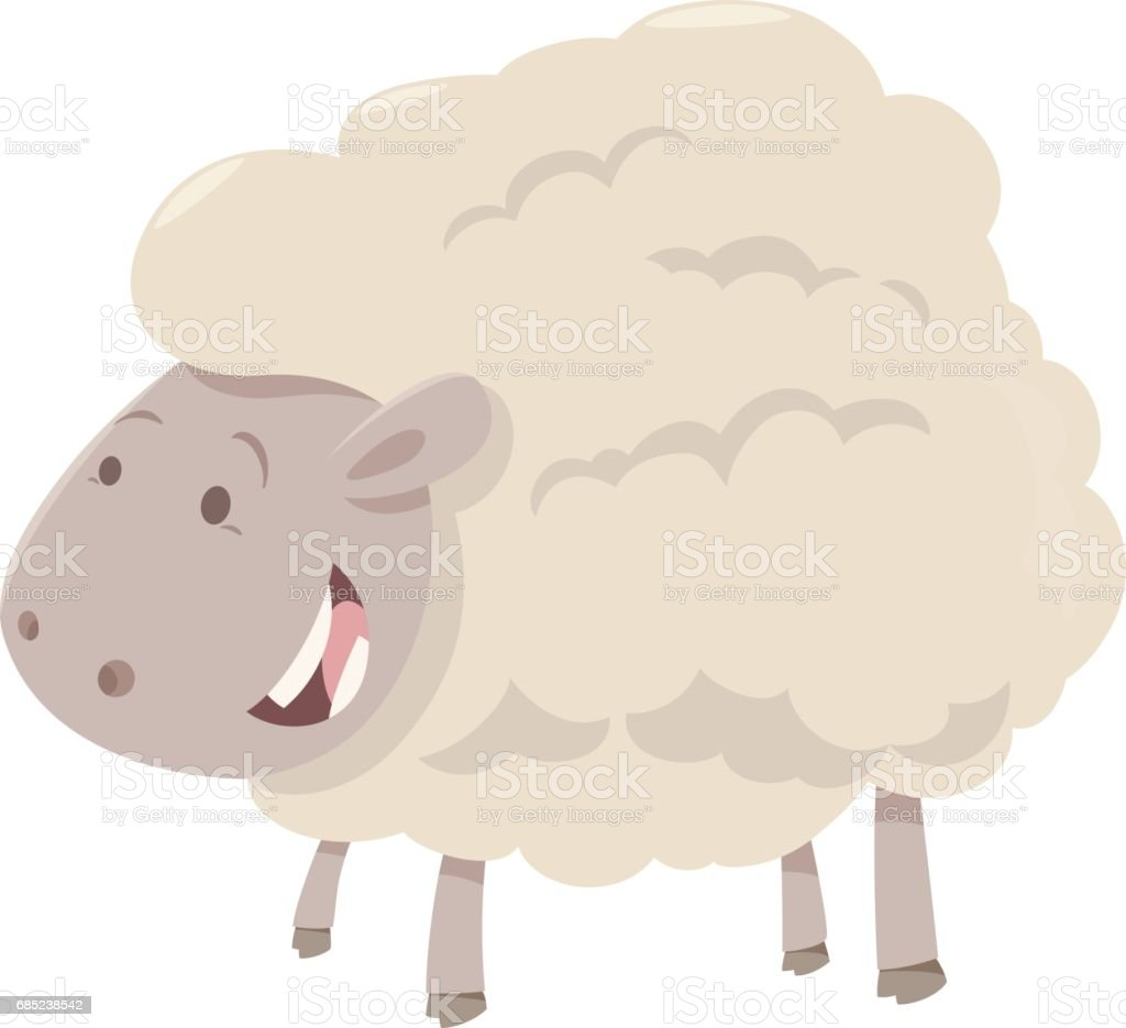 farm sheep animal royalty-free farm sheep animal stock vector art & more images of agriculture