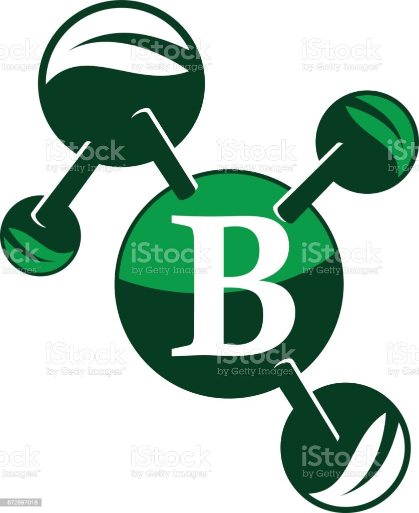 B Stock Solutions farm technology solutions letter b stock illustration