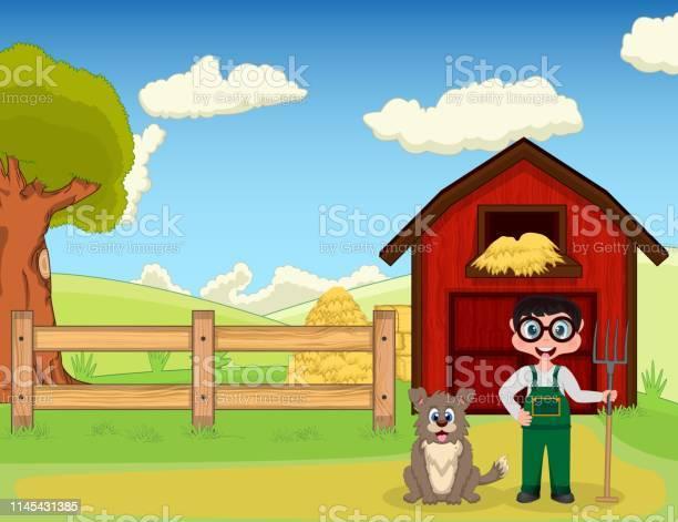 Farmer and dog at the farm vector id1145431385?b=1&k=6&m=1145431385&s=612x612&h=fxltxiwoy6wrtnhvogdej 9mf96rzfggnxj8tlqu9we=