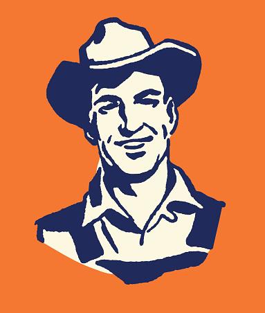 Farmer in a Hat