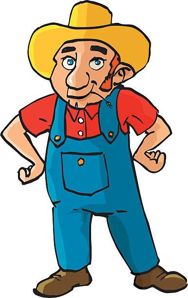 Best Redneck Overalls Cartoons Illustrations, Royalty-Free ...