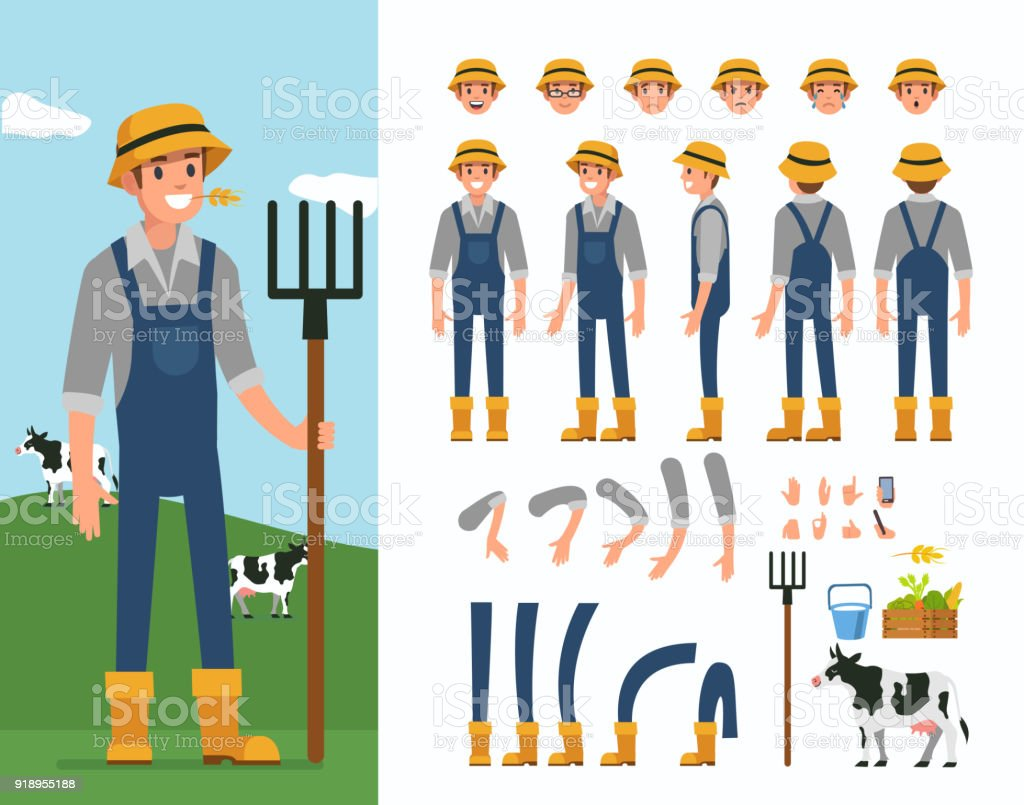 farmer - Illustration vectorielle