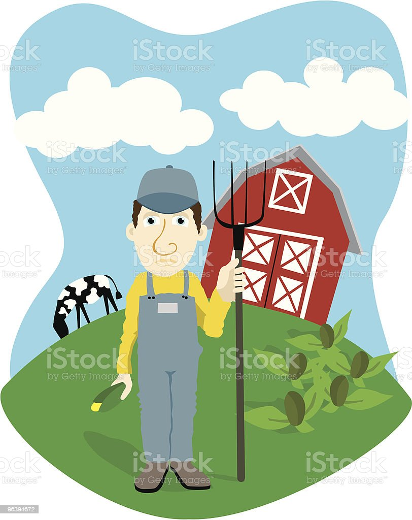 Farmer - Royalty-free Agriculture stock vector