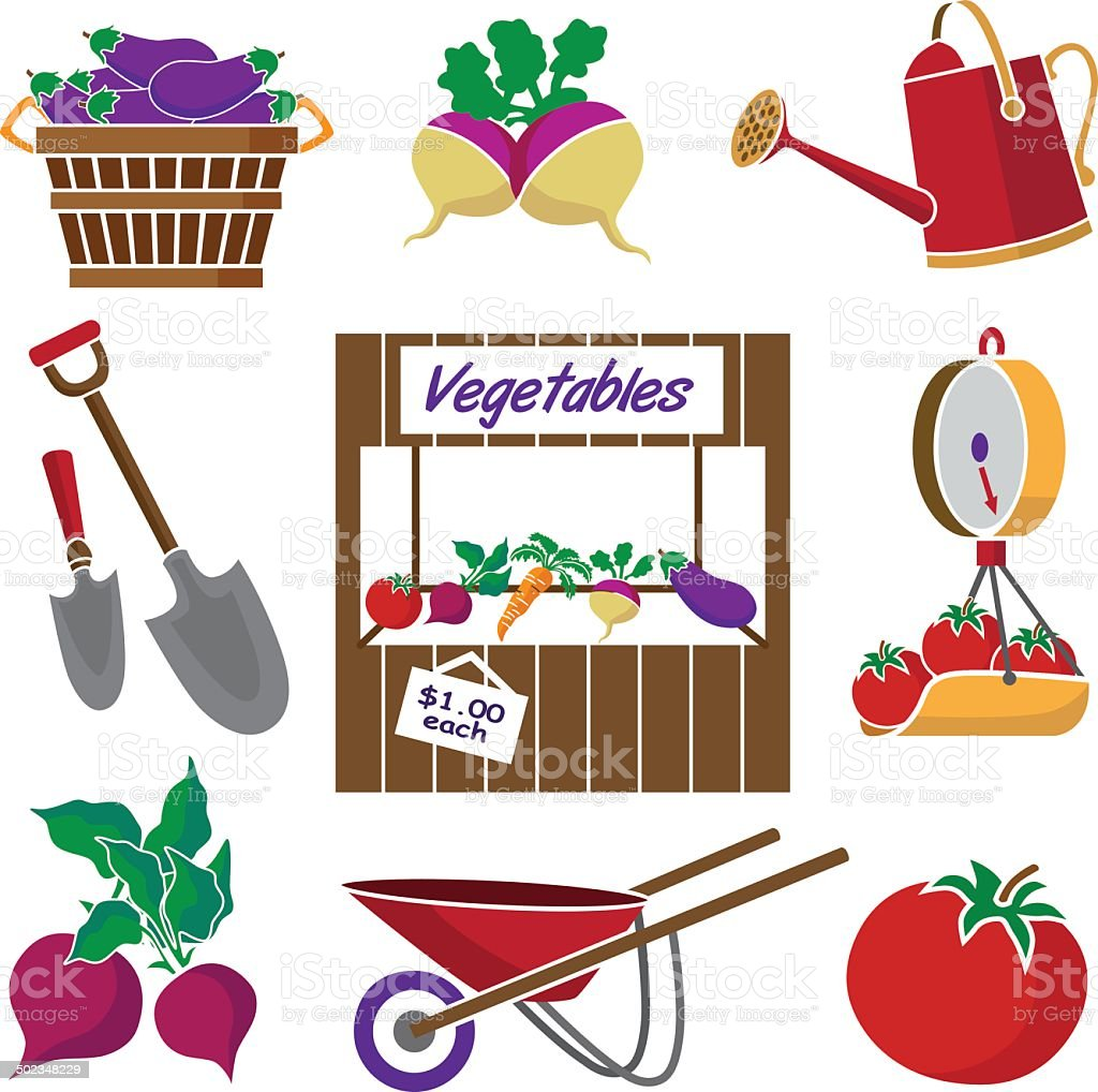 royalty free farmers market stand clip art vector images rh istockphoto com farmers market clipart free