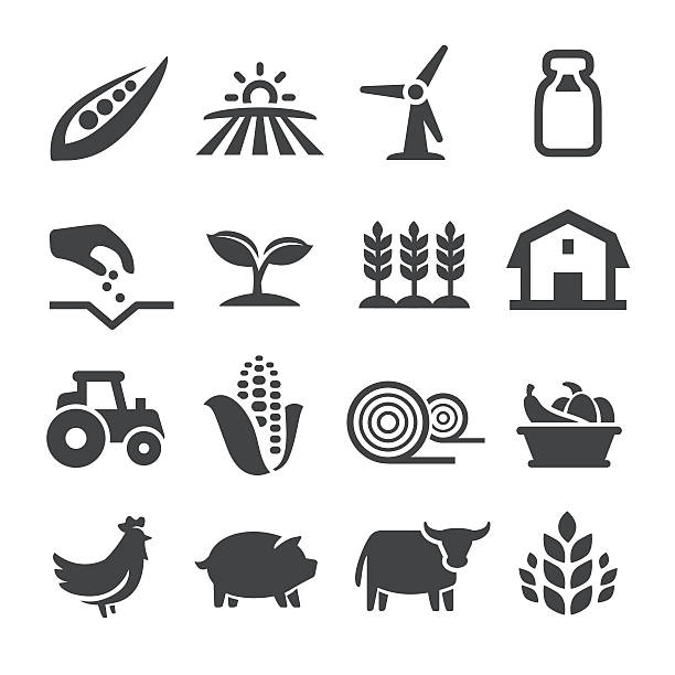 Farming Icons - Acme Series View All: crop plant stock illustrations