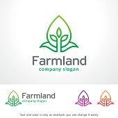 Farmland Symbol Template Design Vector, Emblem, Design Concept, Creative Symbol, Icon