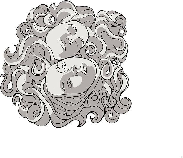 Fases vector art illustration
