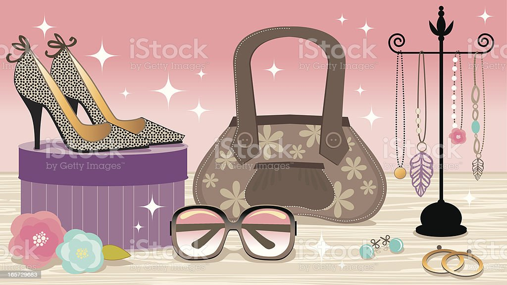 Fashion Accessories Boutique royalty-free fashion accessories boutique stock vector art & more images of beauty