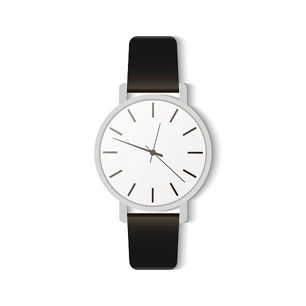 bildbanksillustrationer, clip art samt tecknat material och ikoner med fashion accessories watches - armbandsur