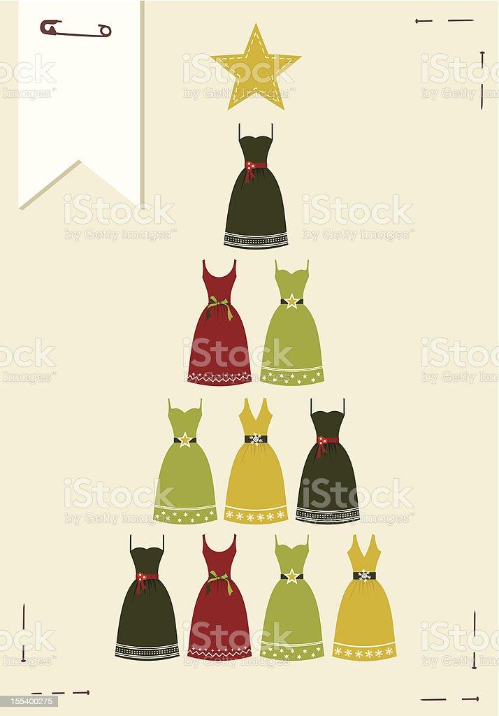 Fashion Christmas tree royalty-free fashion christmas tree stock vector art & more images of abstract