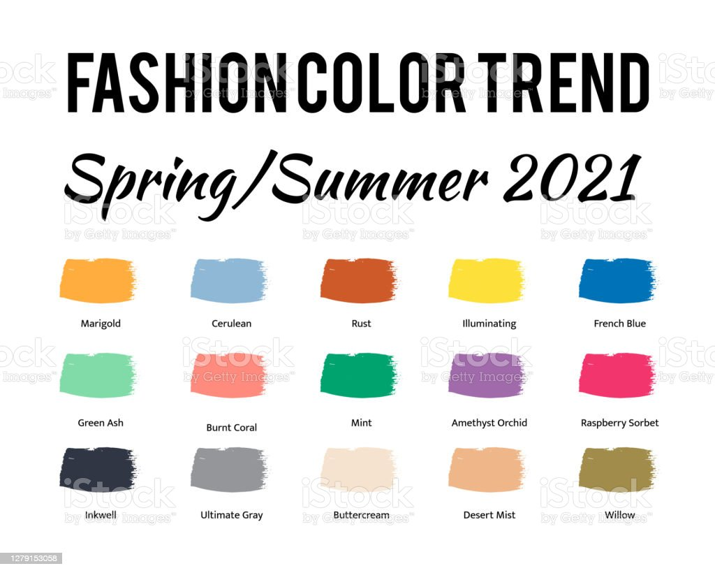 Fashion Color Trend Spring Summer 2021 Trendy Colors ...