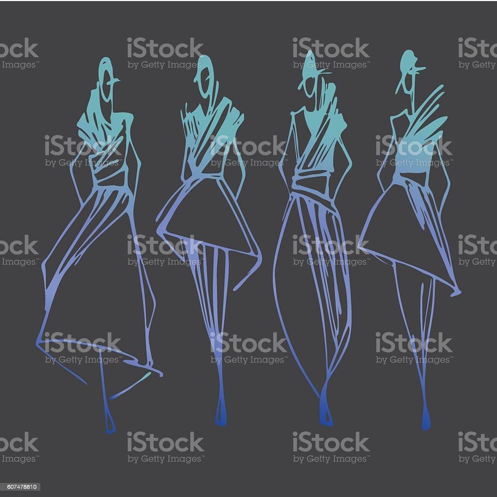 Fashion Design Illustration Stock Illustration Download Image Now Istock