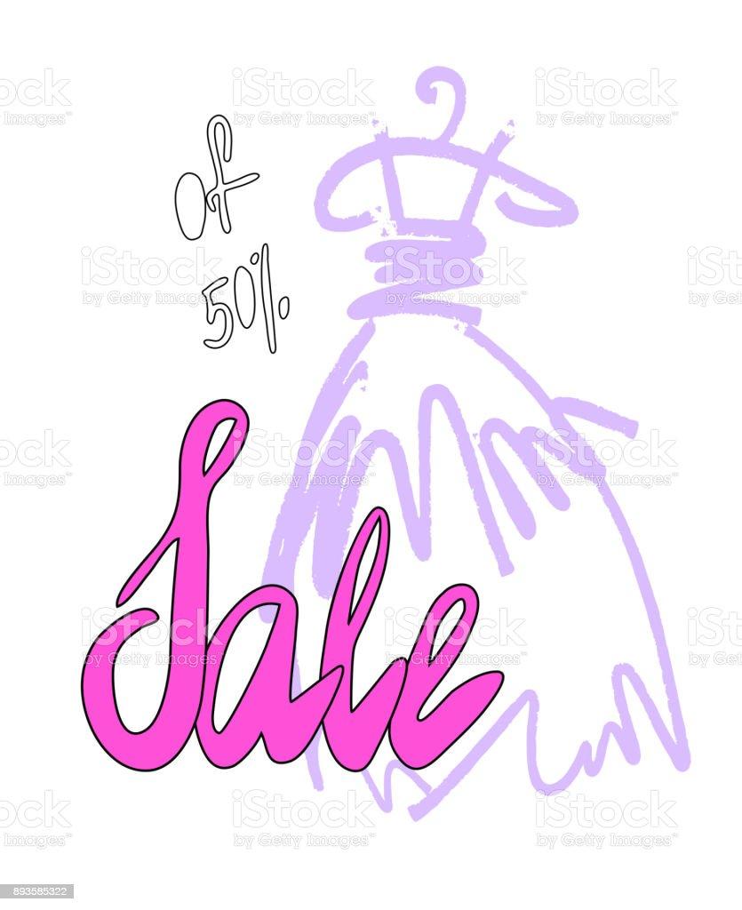 Cinderella Dresses Stock Vector Illustration Of Isolated: Fashion Design Vector Illustration Hand Drawn Woman Dress