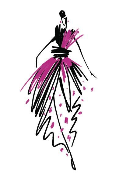 Womenswear Illustrations, Royalty-Free Vector Graphics ...