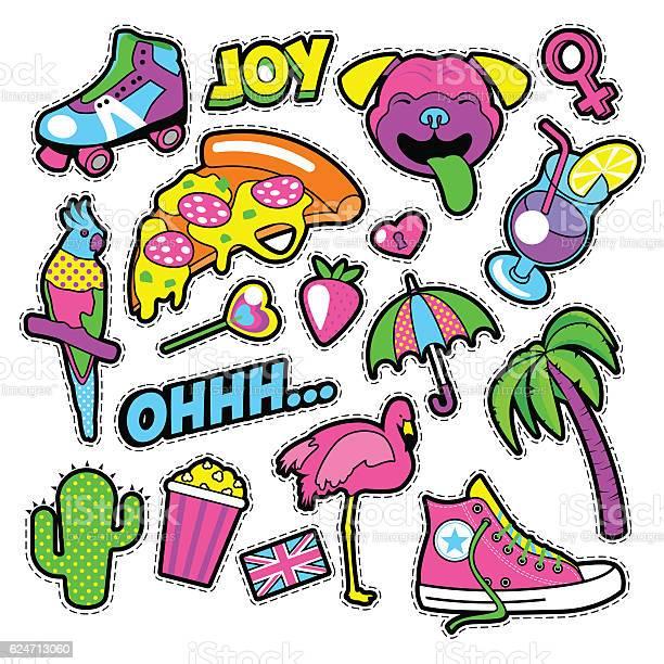 Fashion girls badges patches stickers vector id624713060?b=1&k=6&m=624713060&s=612x612&h=cvswrbqdd13hu8zhcbmiyk r1lurrehpau7hdisnwg4=