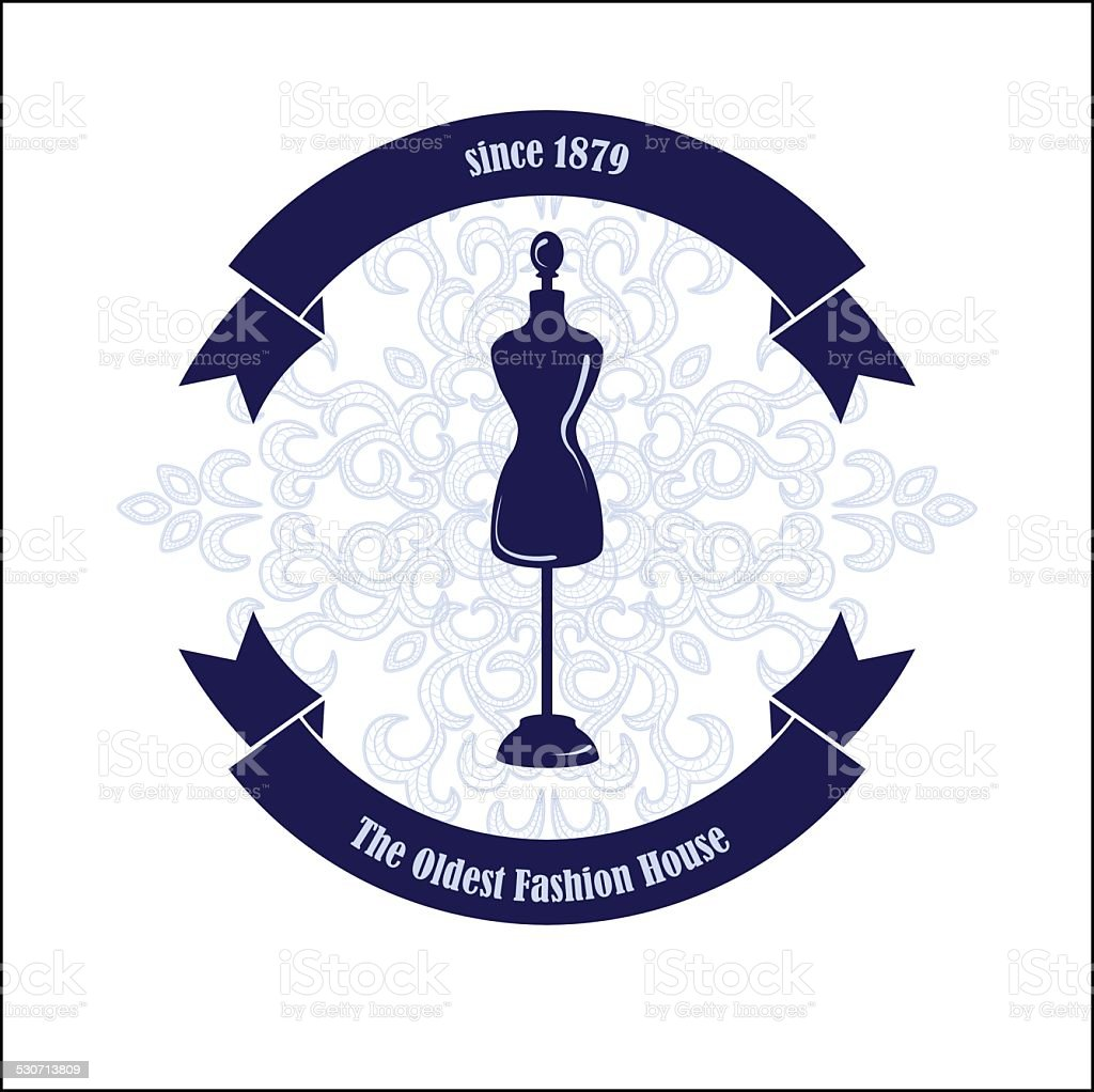 Fashion House Logo Design Template Stock Vector Art More