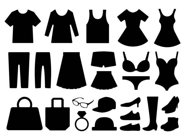 ファッションアイコン - 靴のファッション点のイラスト素材/クリップアート素材/マンガ素材/アイコン素材