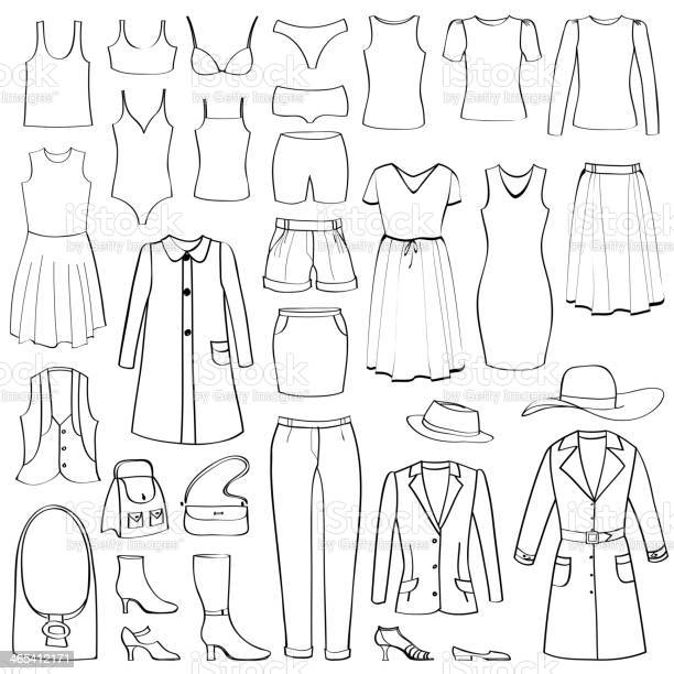 Fashion icons set female cloth collection vector id465412171?b=1&k=6&m=465412171&s=612x612&h=ok8fptc65ybtqljotr4xyuz  7p7k 9yfqewofeipua=
