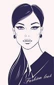 Fashion illustration, vector.