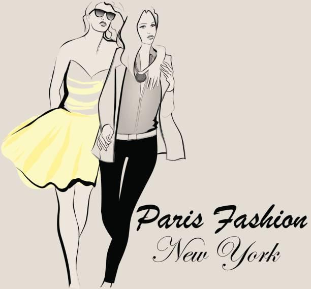 mode modell verderbnis - couture stock-grafiken, -clipart, -cartoons und -symbole
