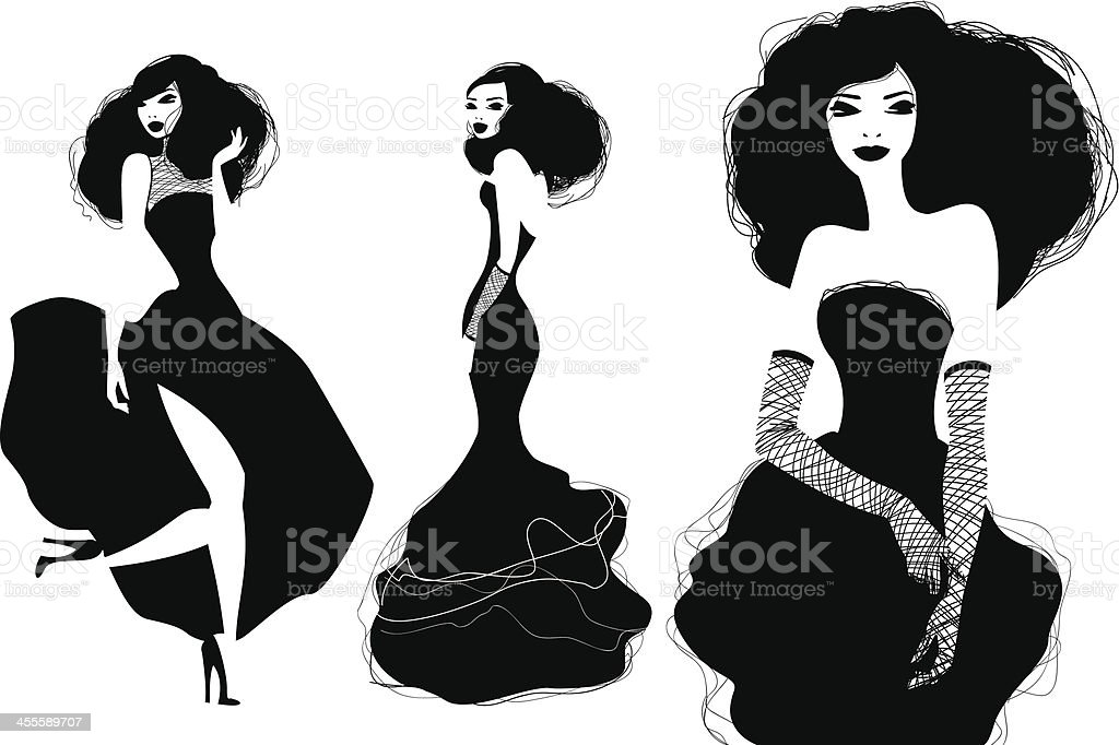 Fashion Models royalty-free fashion models stock vector art & more images of adult