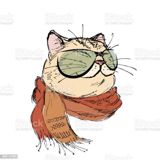 Fashion portrait of kitten boy cat with bow tie and glasses vector id856153680?b=1&k=6&m=856153680&s=612x612&h=qb6s5j jp1airypyavhptqb hqmauobzutflyk1 nai=