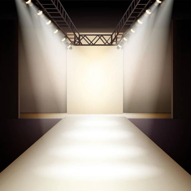 Mode-Laufsteg – Vektorgrafik