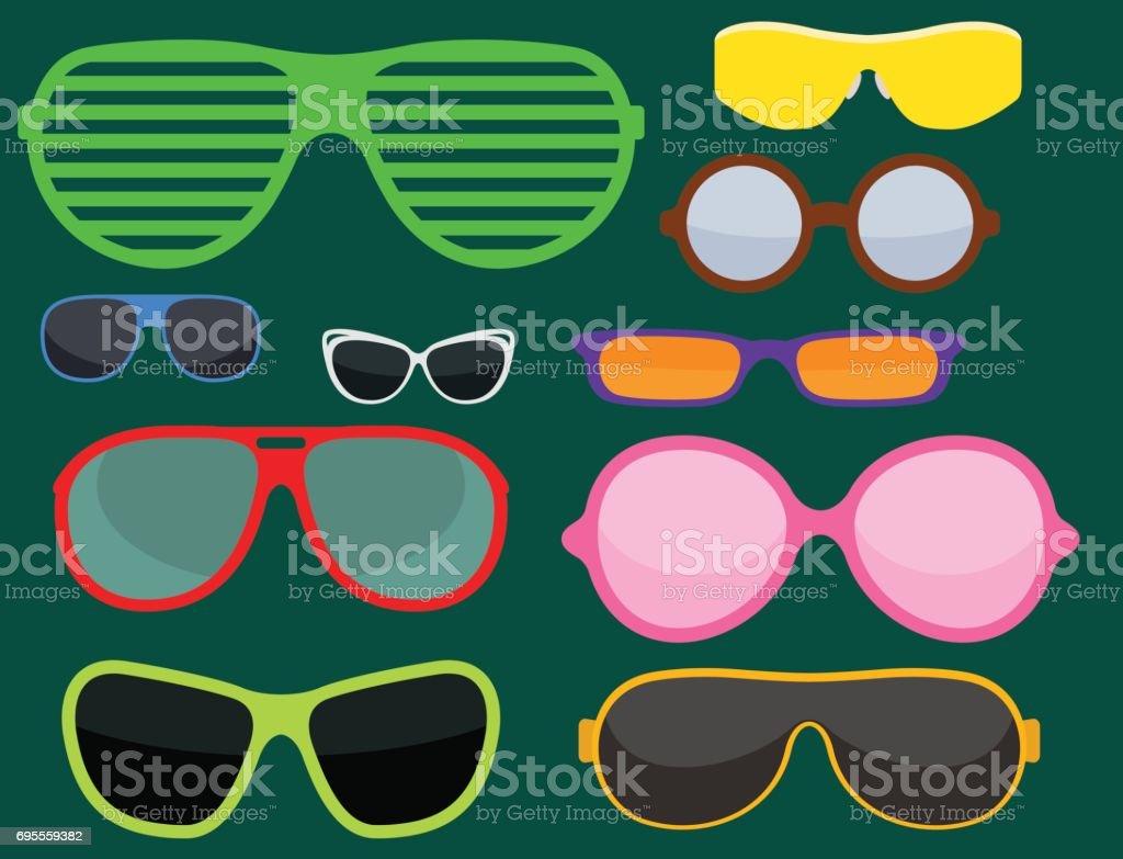 Modeset Sonnenbrillen Zubehör Sonne Brille Kunststoffrahmen Moderne ...