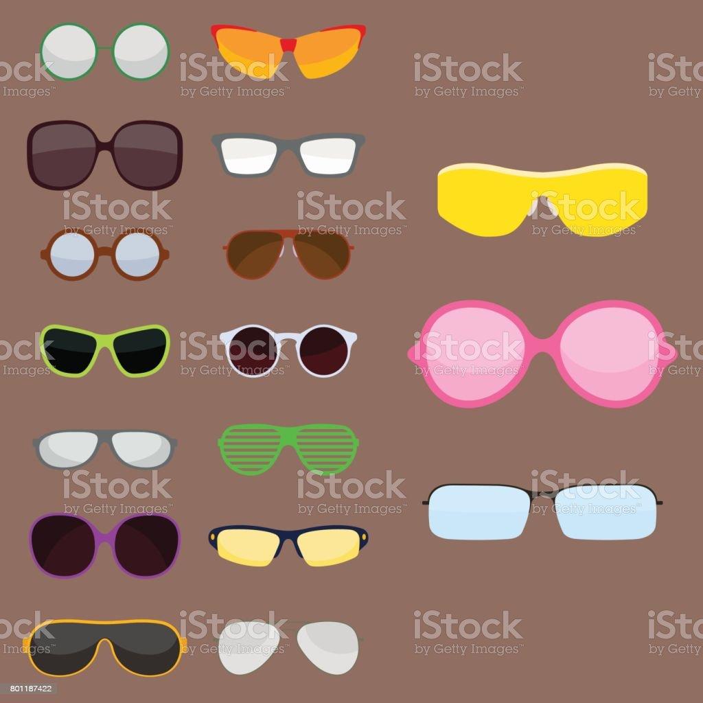 Modeset Sonnenbrillen Zubehör Sonne Brille Kunststoffrahmen