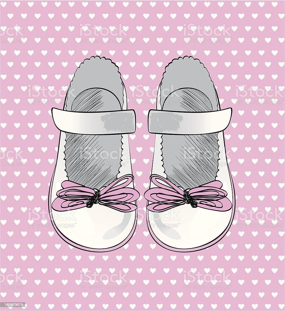 fashion  shoes. royalty-free stock vector art