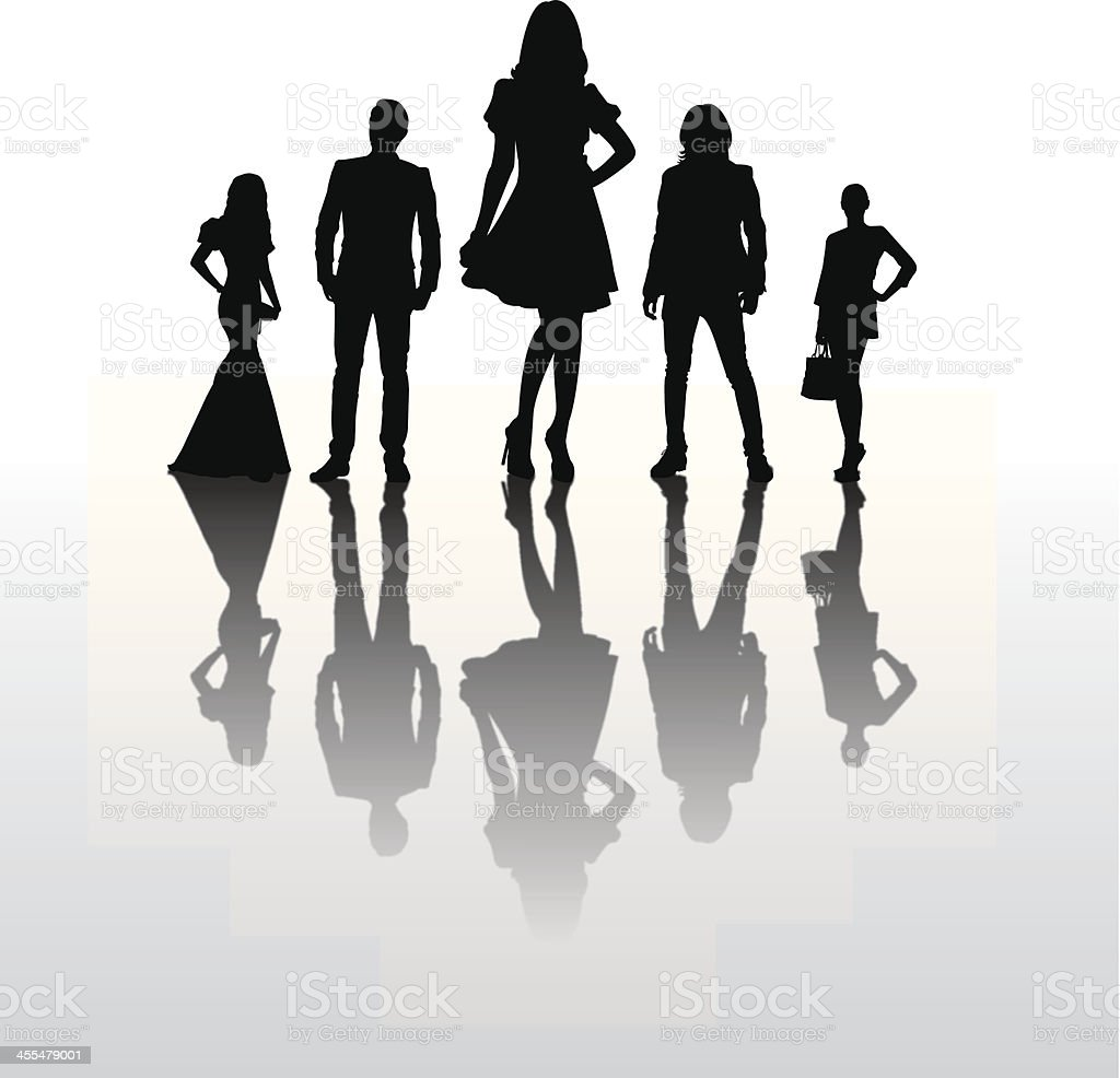 fashion show stock vector art amp more images of adult