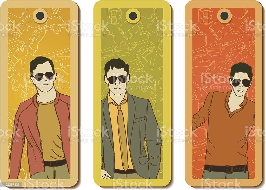 Fashion tags royalty-free stock vector art