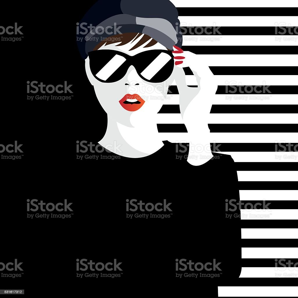 Fashion Teenage Girl Stock Vector Art More Images Of Abstract Istock