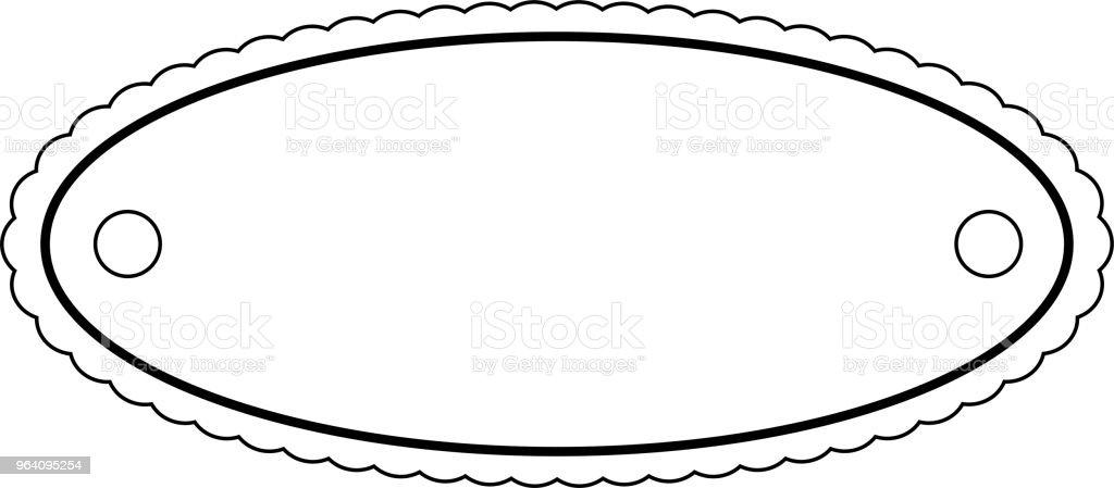Fashionable Circle flame - Royalty-free Anniversary stock vector
